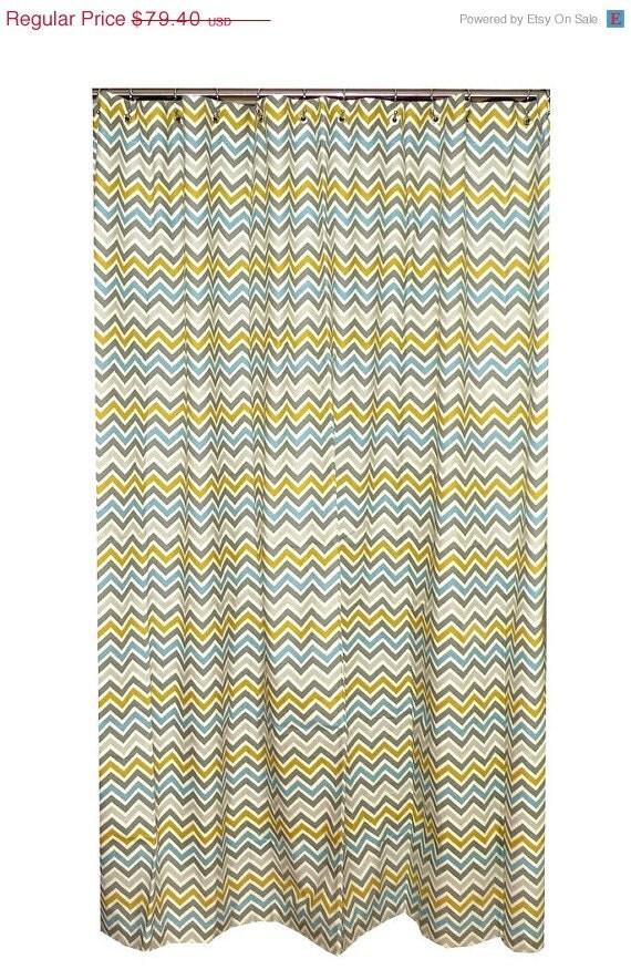 Spring Sale Clearance Chevron Shower Curtain by elisabethmichael