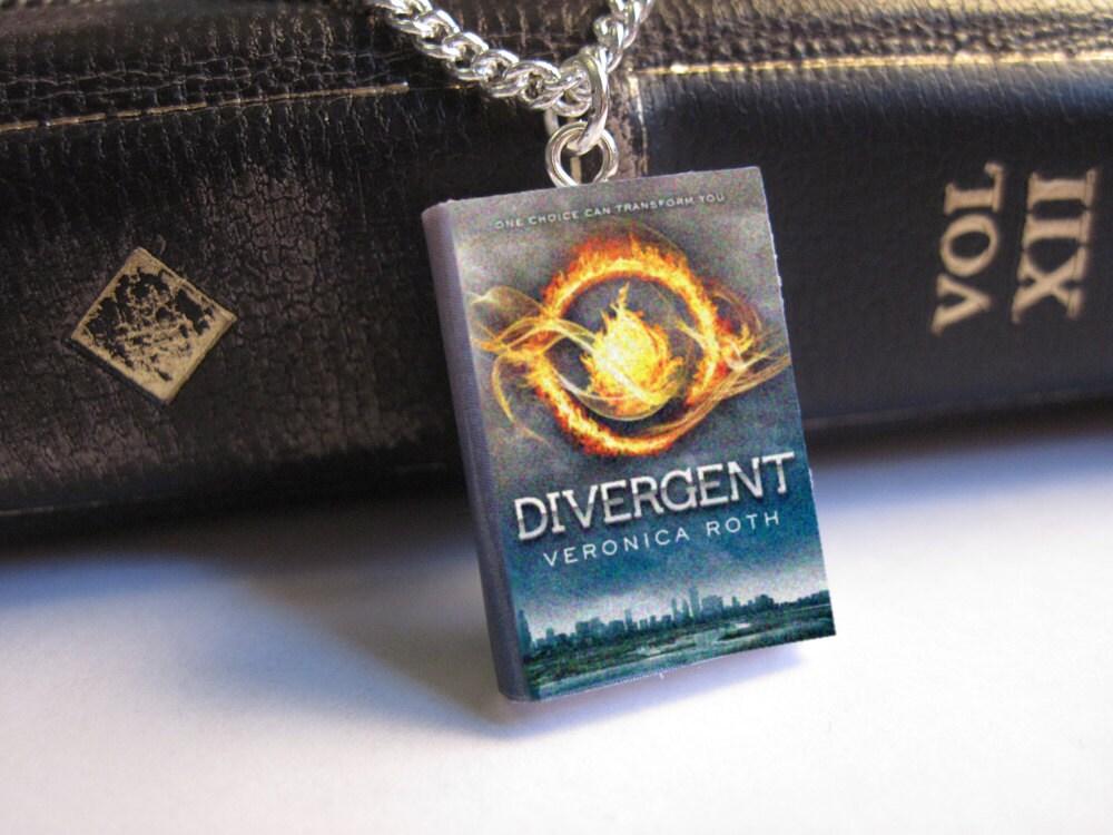 Divergent Miniature Book Necklace