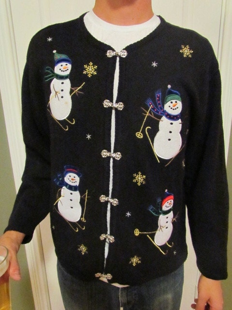 Ugly Chirstmas Sweater - Size XL