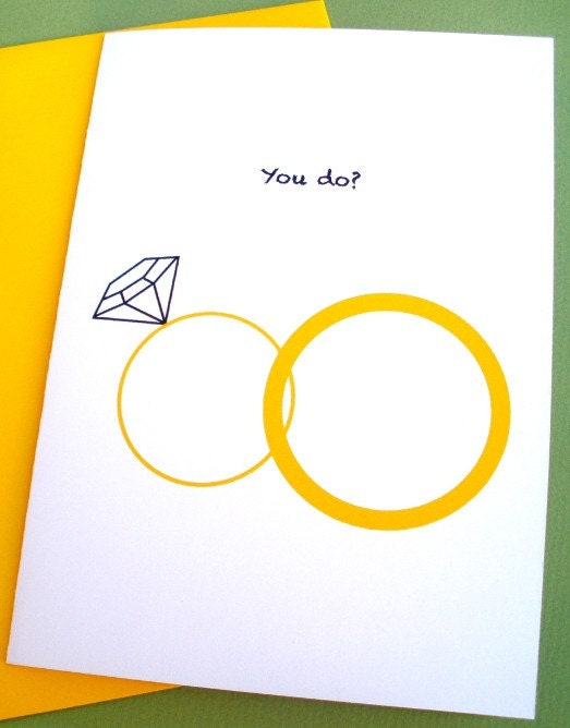 Funny Wedding Card You do From soursop