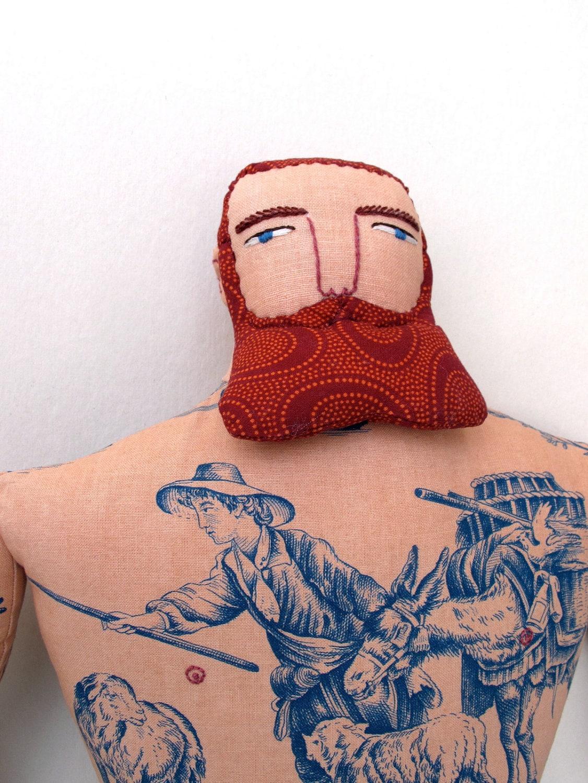 Red beard tattoo for Red beard tattoo