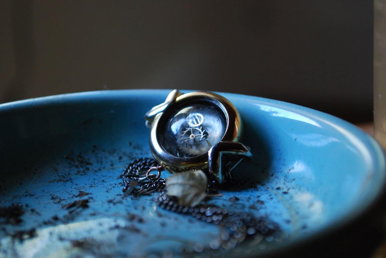 Neo Victorian Watch Case Necklace II