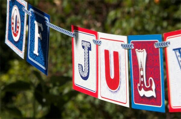 July 4th Mini-Banner