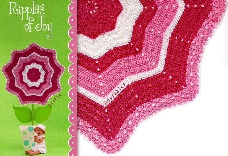 ROUND CROCHET BABY BLANKET ? Crochet For Beginners