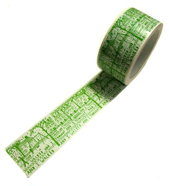 And I Walked Tape (Green)