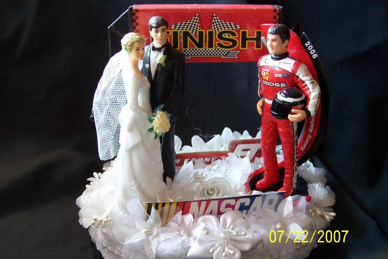 Nascar racer wedding