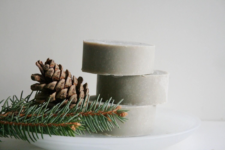 Fresh Pine Handmade Shaving Soap Bar - Essential Oil Shaving Soap - Natural Soap - ElegantRoseBoutique