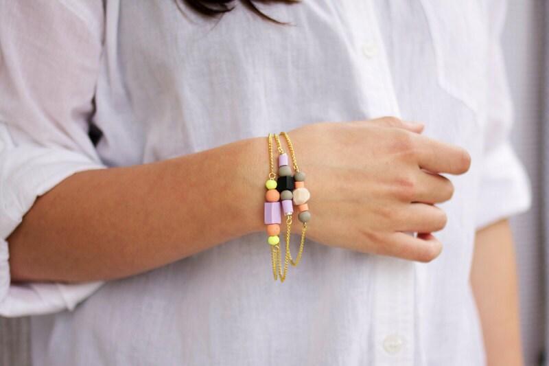 mixed bead bracelet no. 2
