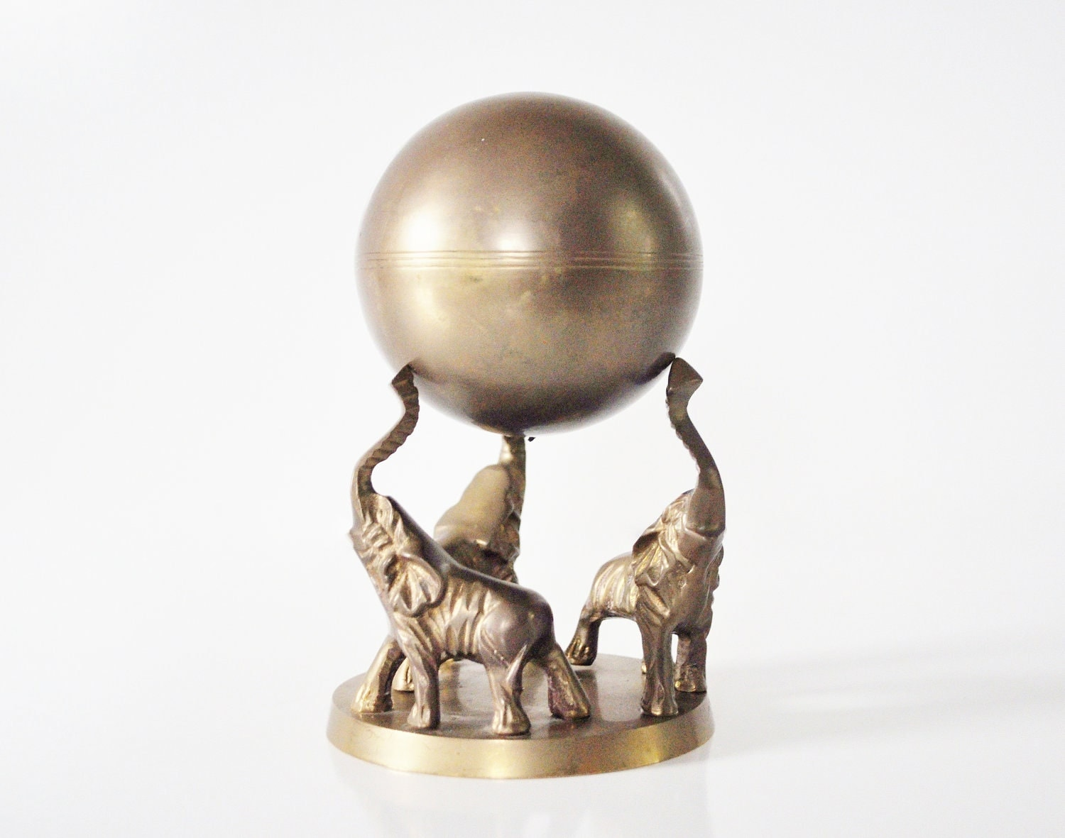 Brass Circus Elephants