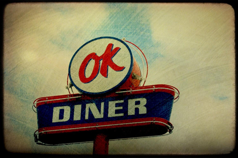 OK Diner Fine Art Photograph 8x10