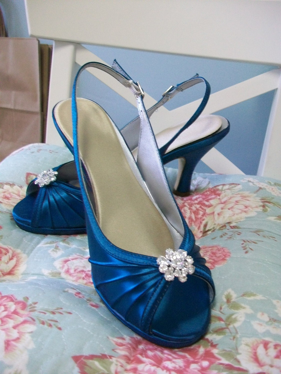 Blue Shoes For Wedding Canada