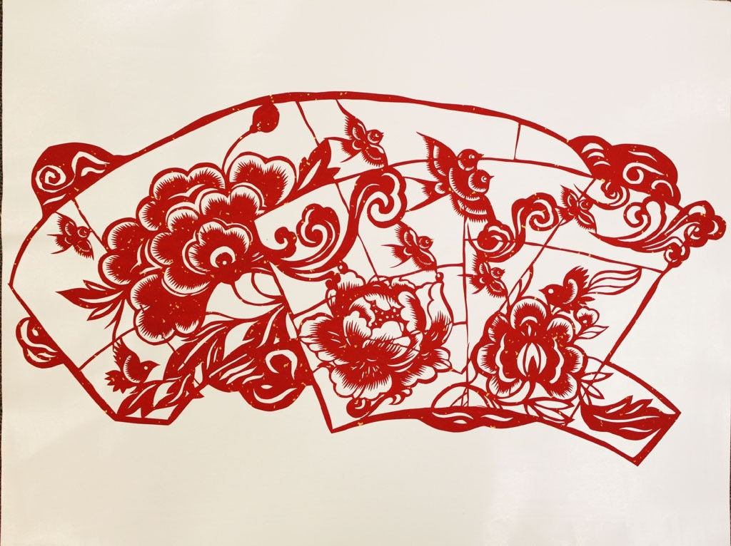 UNIQUE - - Chiese Paper-cutting Art / Chinese Paper-cutting Picture