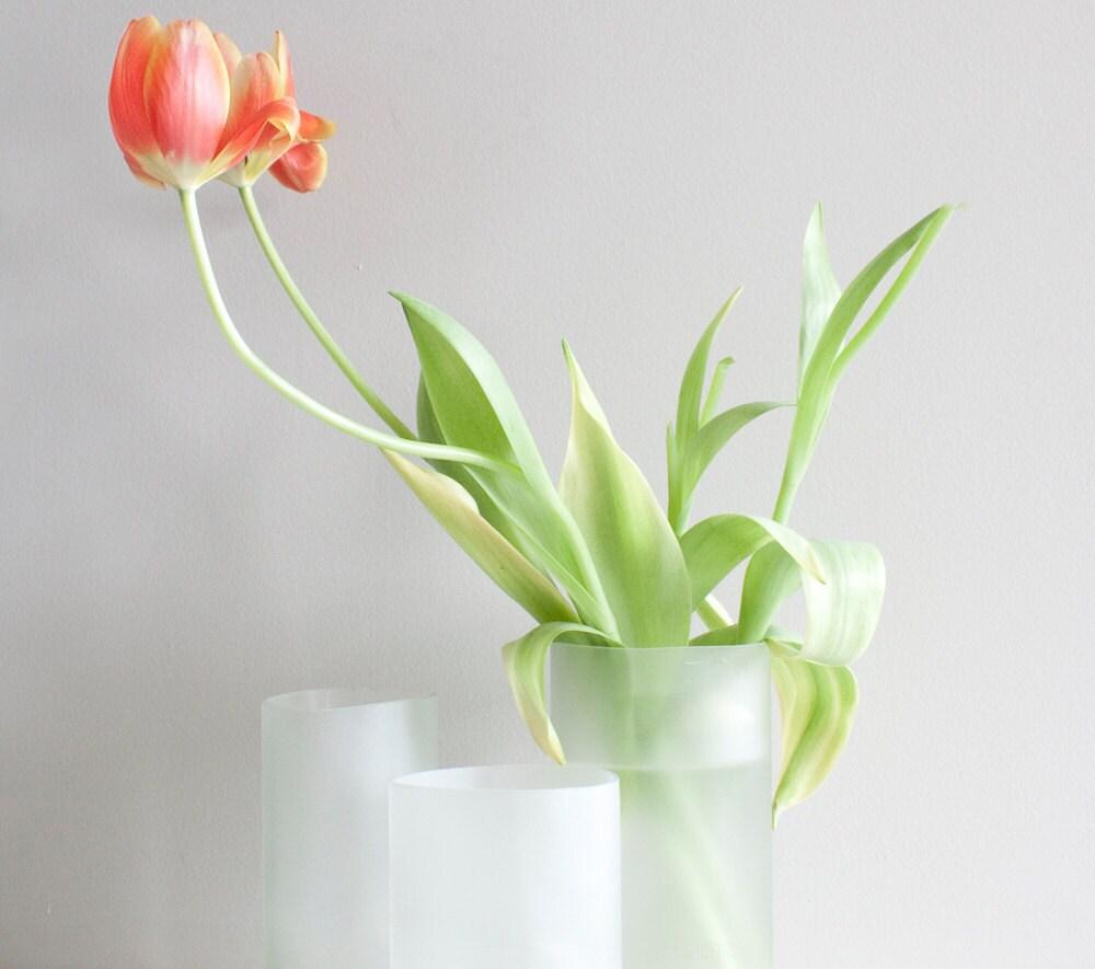 Recycled Glass Vase/Planter - size medium