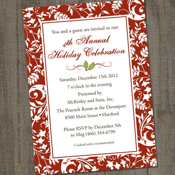 fancy party invitations