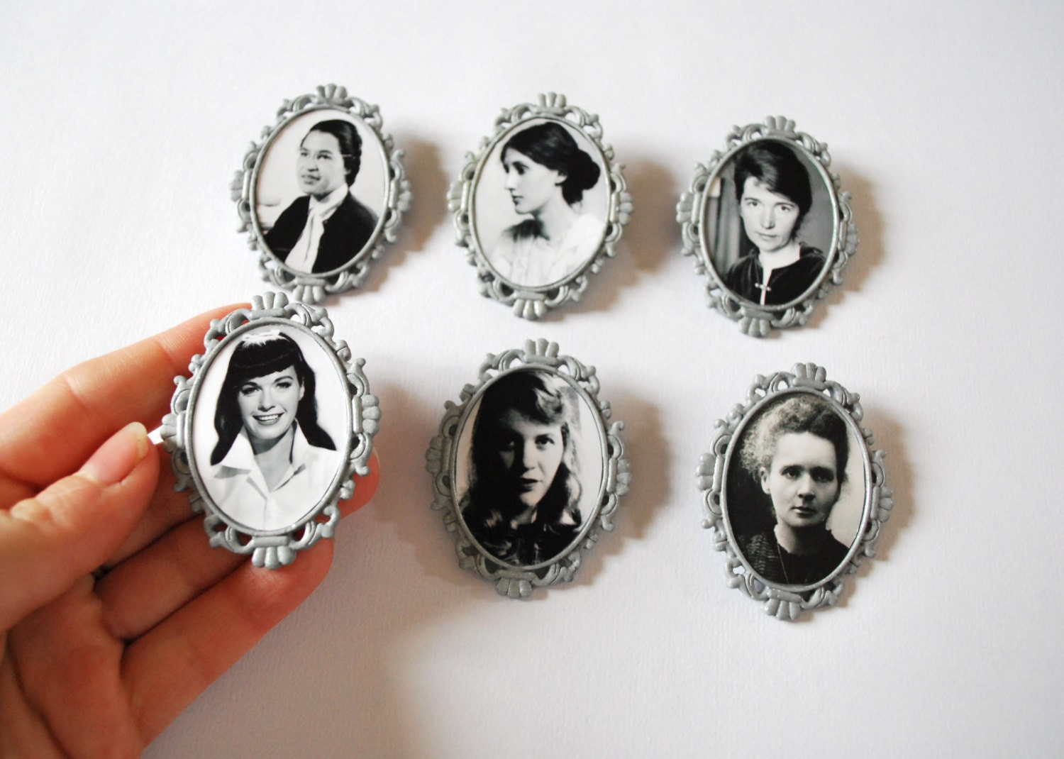 Sylvia Plath Brooch