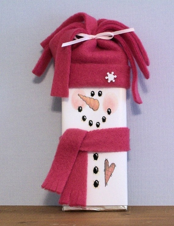 CraftSayings.com • View topic - Snowman Candy Wrapper