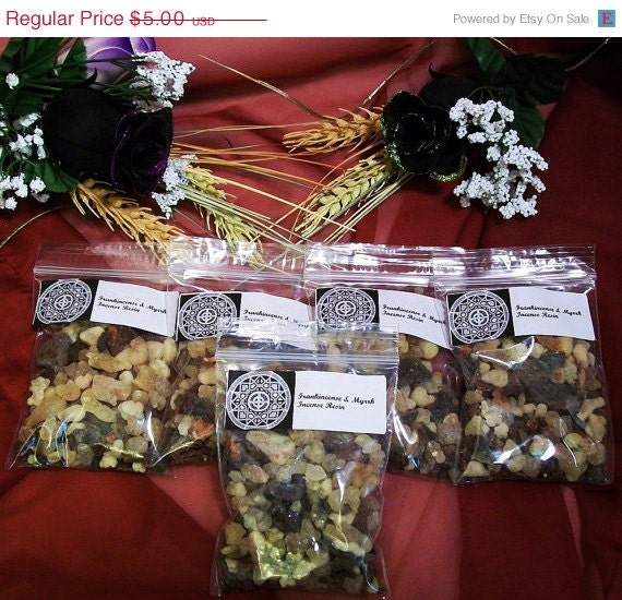 Winter Solstice Sale Frankincense & Myrrh by leighswiccanboutique