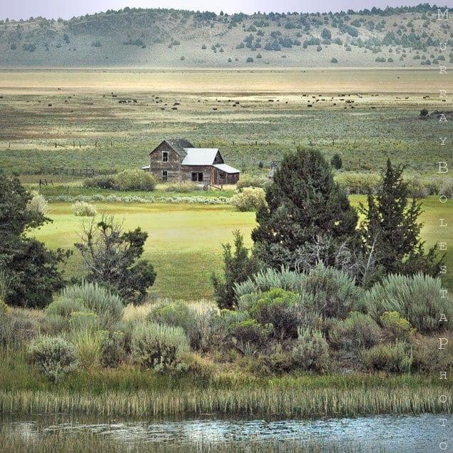 Photography art print prairie farm ranch pioneer cabin western landscape photo Fine Art Photograph 10x10