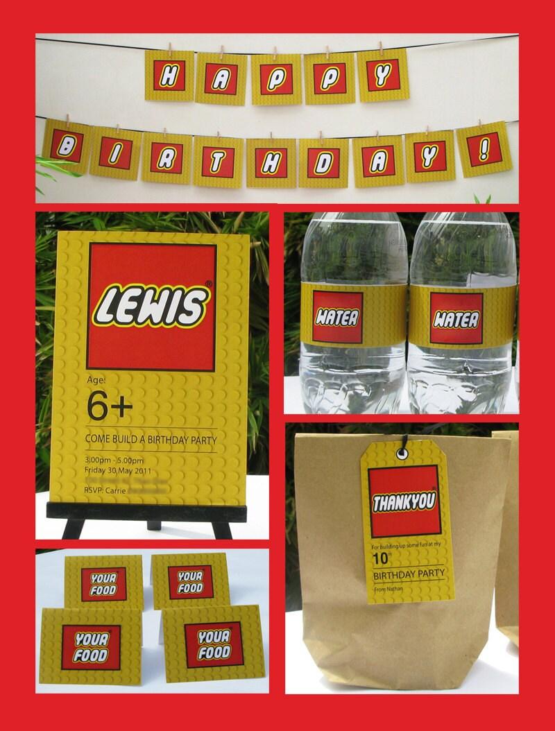 lego Archives Lifes Little Celebration – Free Lego Party Invitations