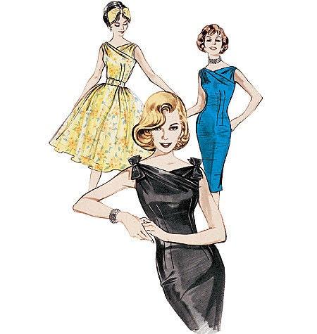 retro dress pattern | eBay - Electronics, Cars, Fashion