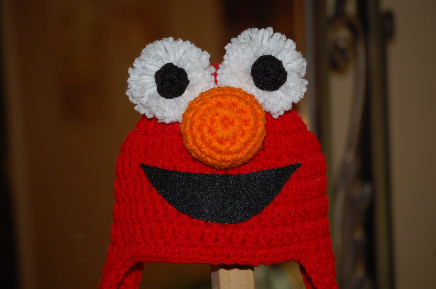 Free Crochet Patterns For Elmo Hat : Elmo Hat Pattern submited images.
