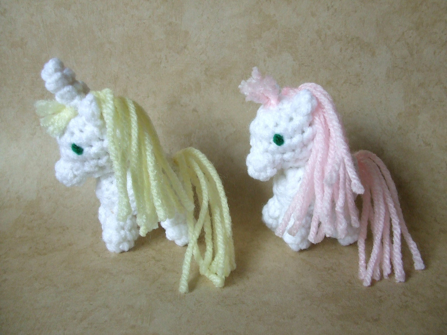 Unicorn and Pegasus Mini Amigurumi Crochet Pattern FotoFuze