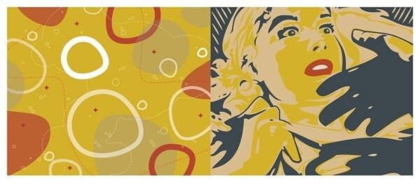 Cinema Fantastique - giclee print - 15 x 32