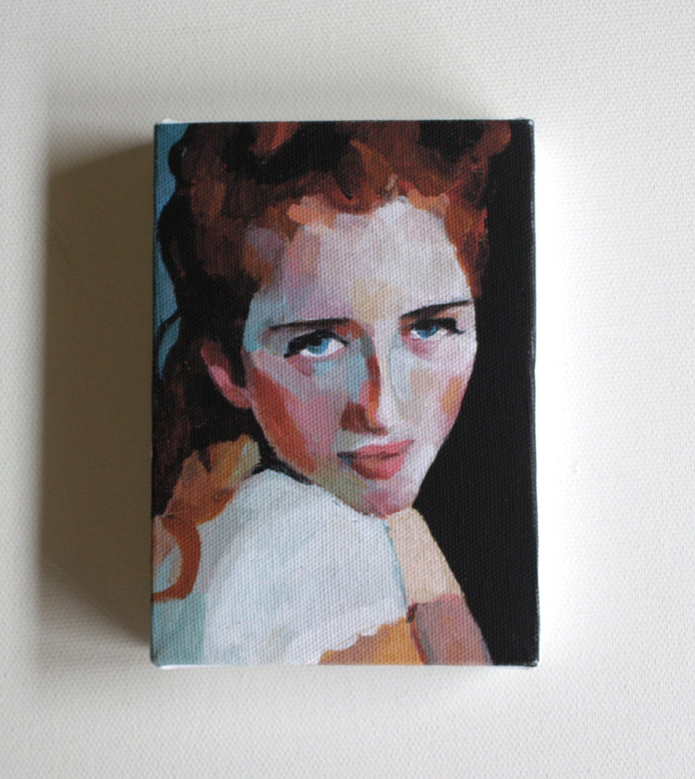Kira/ tiny canvas  print