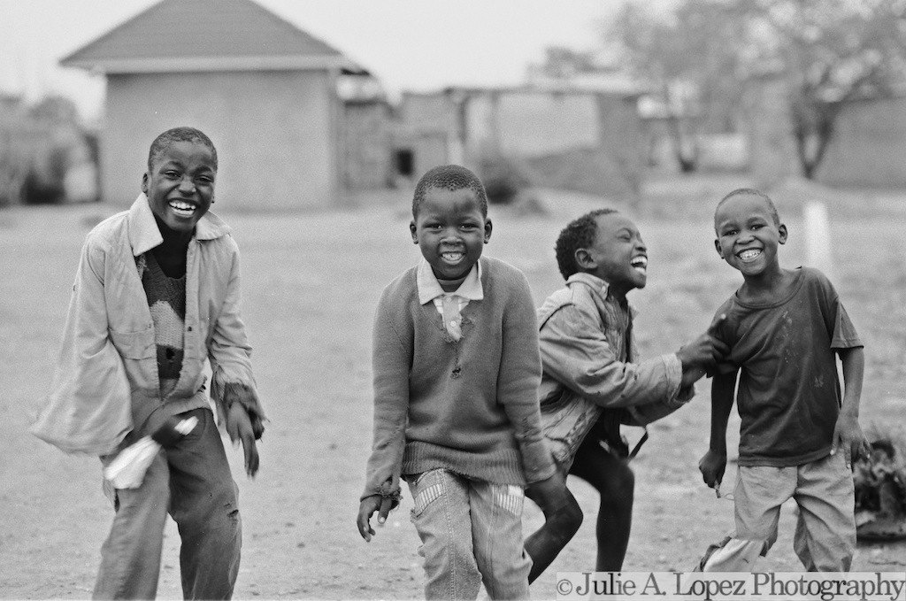Dance Photography, Joyful, Childhood, Smile, Laughter, Africa, Happiness, Dancing, Black and White Photography, 8x10 - ImageNationphoto