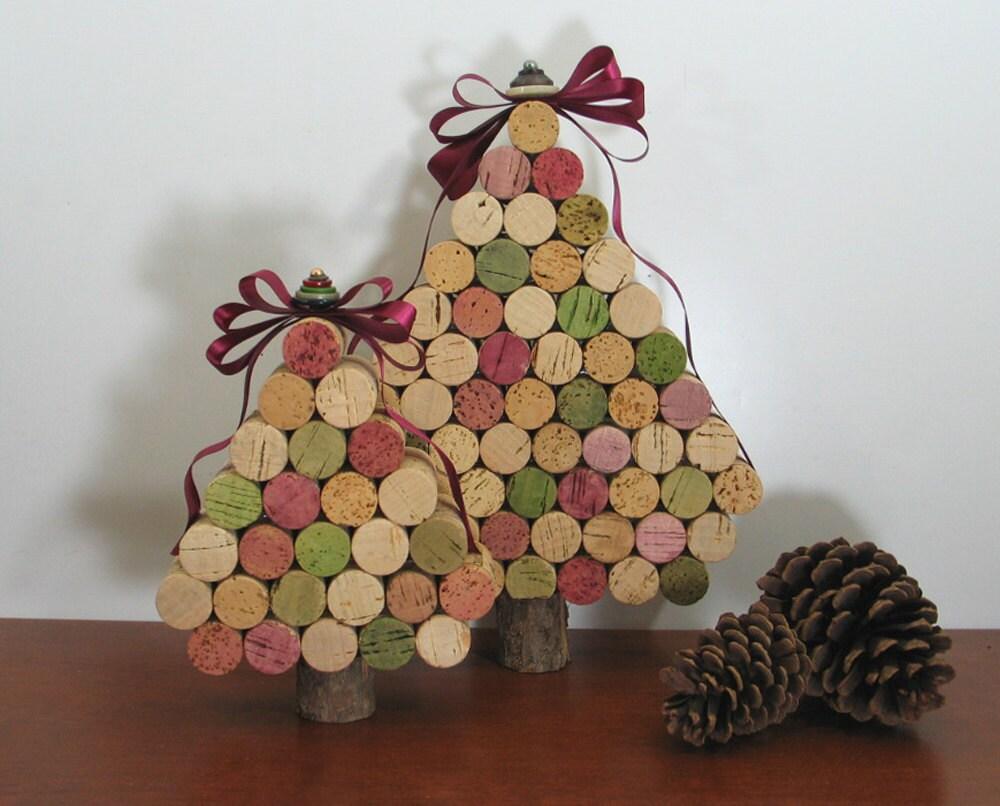 cork christmas trees craft ideas pinterest. Black Bedroom Furniture Sets. Home Design Ideas