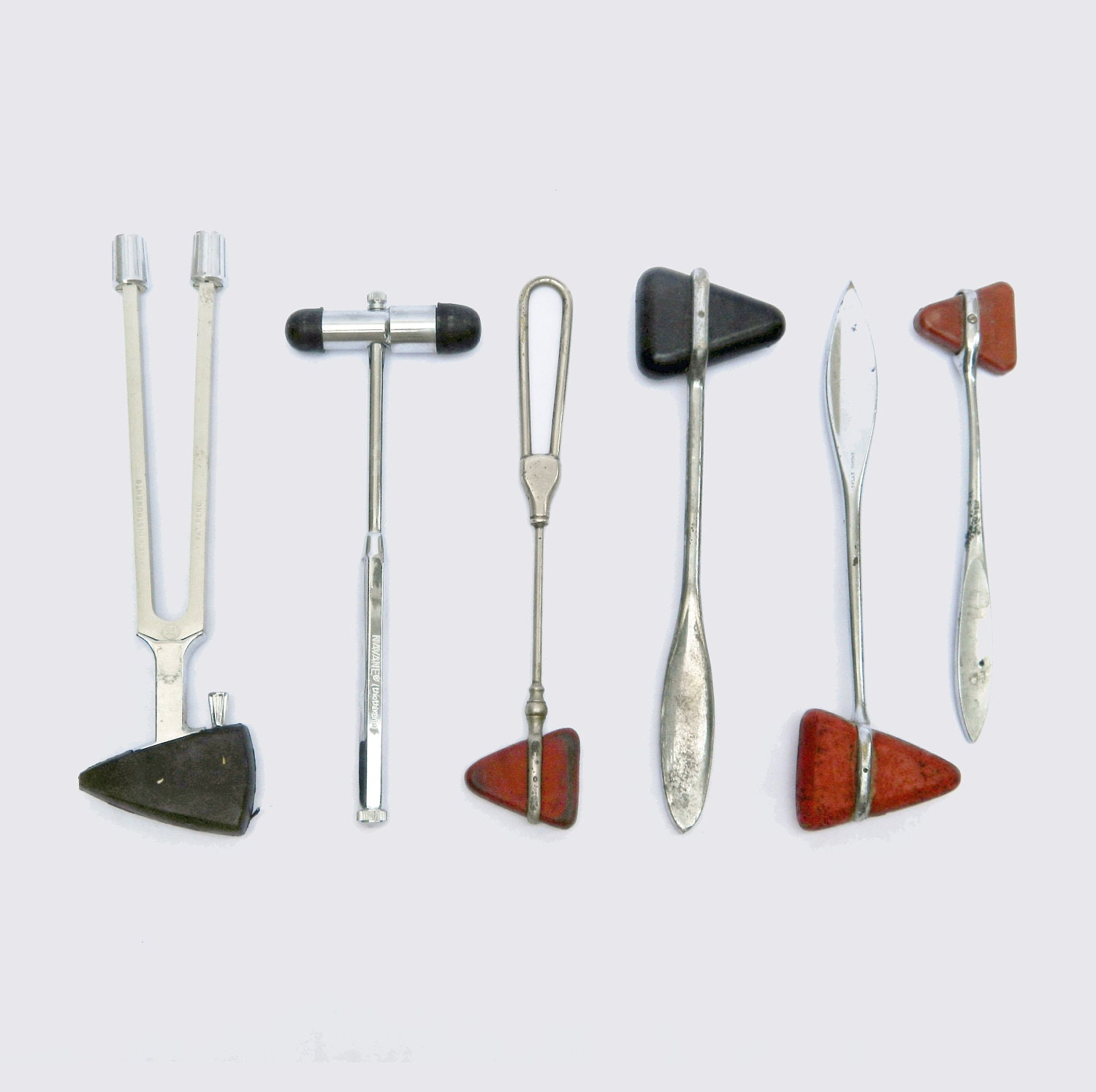 Plessors - Authentic - Vintage - Doctor - Medical Memorabillia - Reflex Hammers - Knee Knockers - Check Your Reflexes