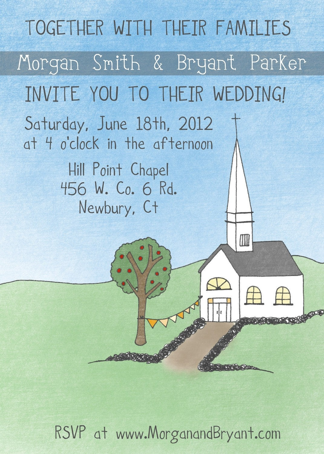 Primitive Church Wedding