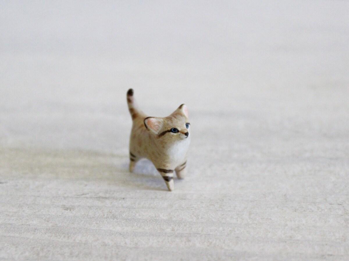 Baby Sand Cat- The Totem Nursery - HandyMaiden