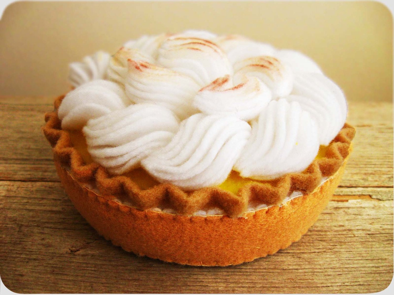 Лимонный пирог Безе