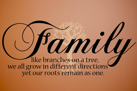 family tree quotes or poems quotesgram