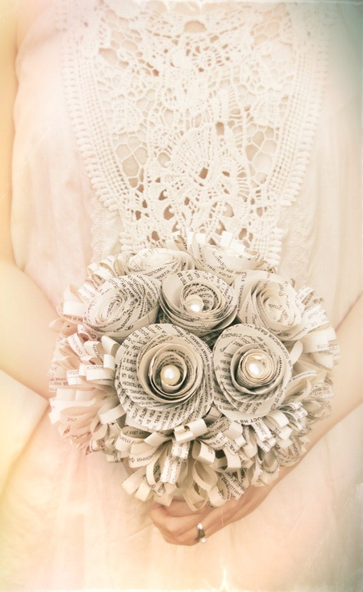origami bouquet wedding and events floral ideas pinterest