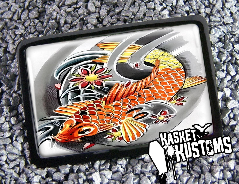 Koi Fish Asian Japanese Tattoo