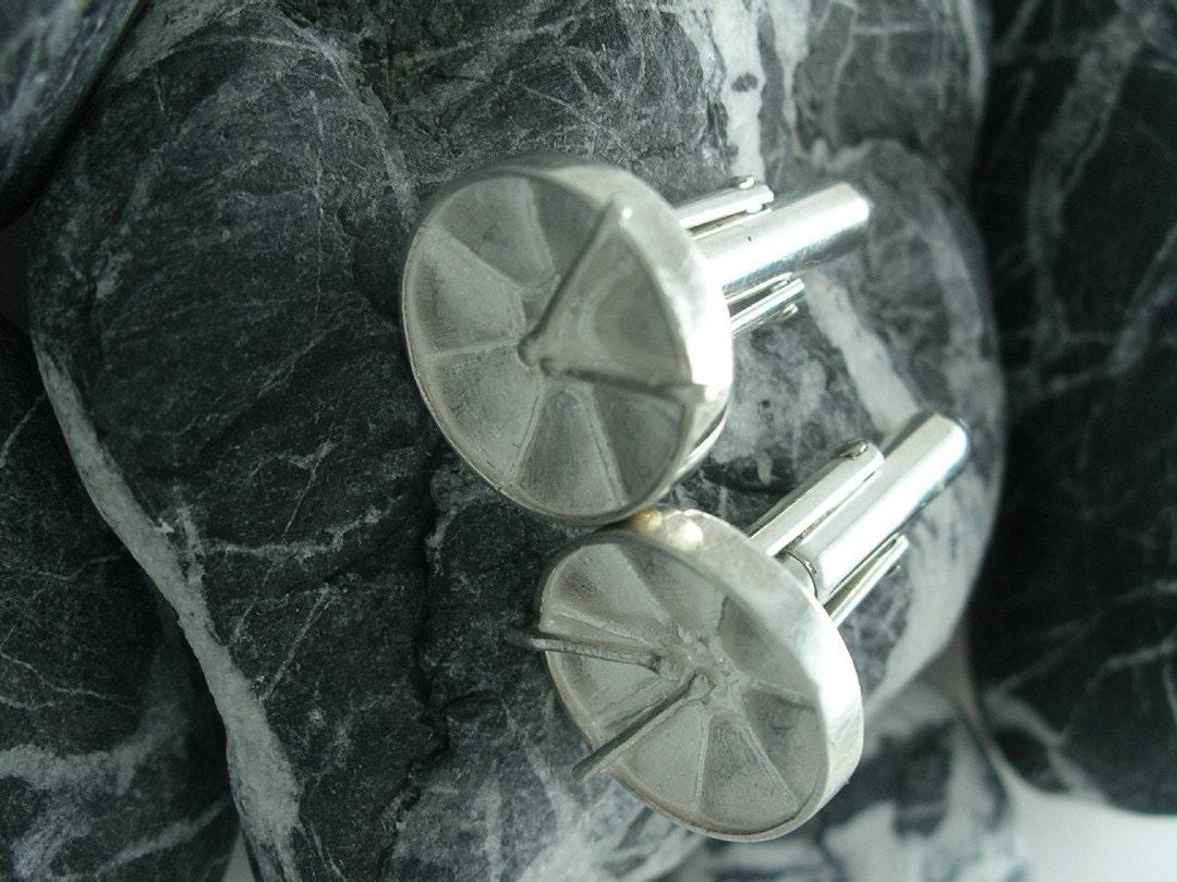 Steel Pan Cufflinks