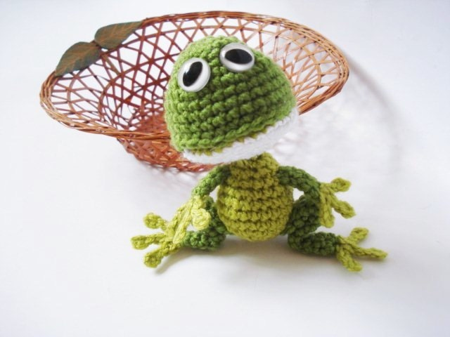 Amigurumi Frog Pattern : Turtles & Frogs on Pinterest Crochet Turtle, Crochet ...