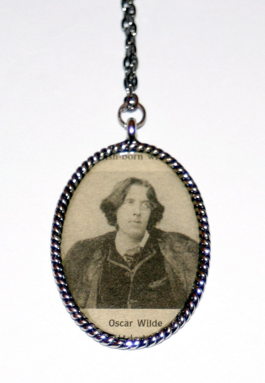 Collier Auteur Morte - Oscar Wilde - Collier littéraire