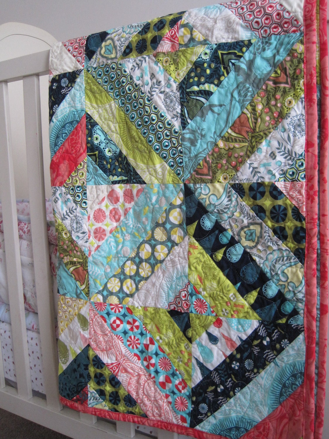 Modern Prince Charming String Quilt