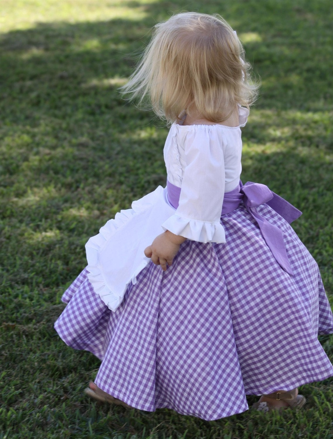 19th Century Inspired Costume Dress - Colonial, Prairie, Pioneer, Tea Party, Halloween