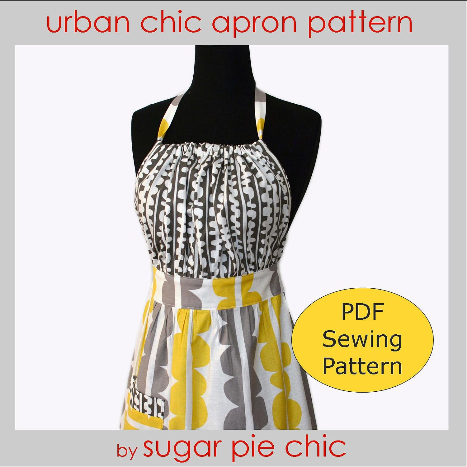 Quality Retro Apron Patterns for the Modern Gal by SugarPieChic