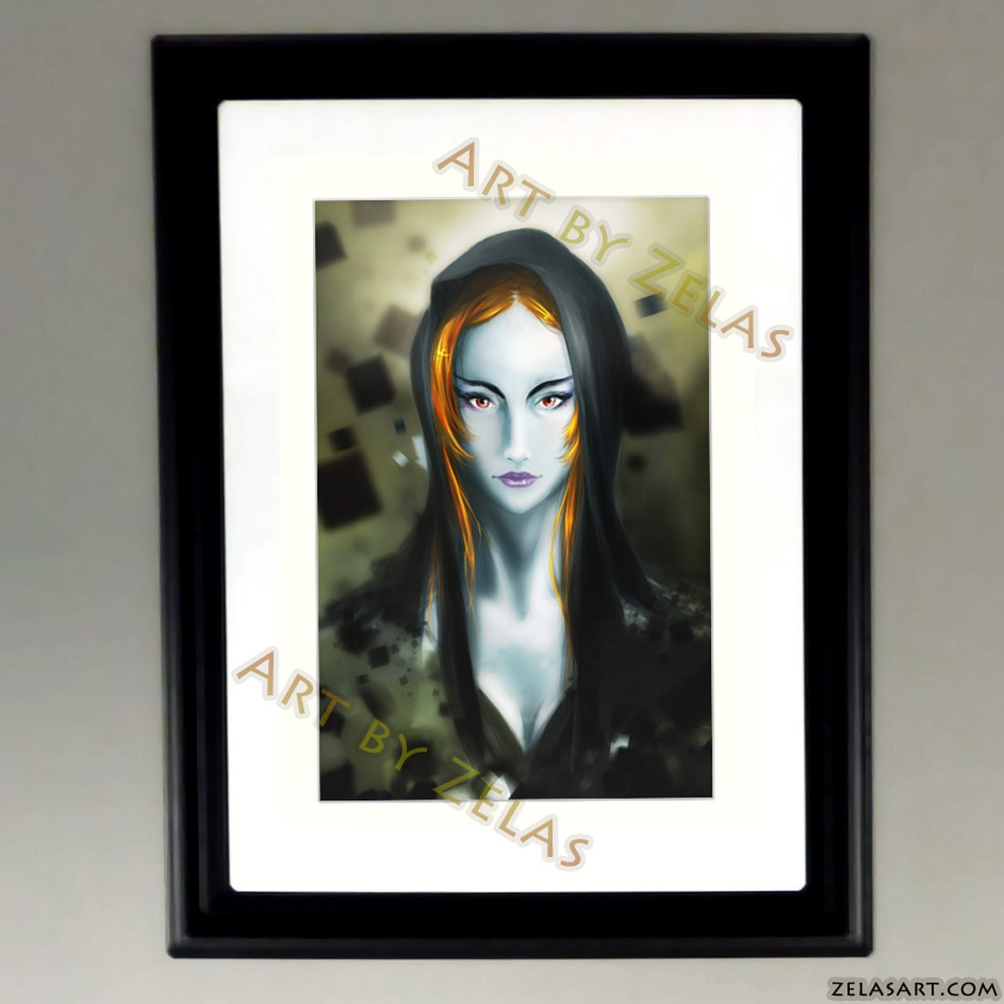 Adult Midna - Zelda Twilight Princess fan art print 8x10. From zelas