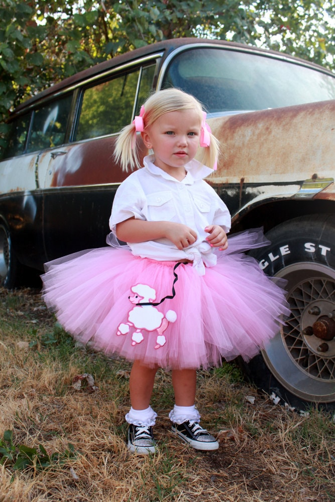 Atutudes Custom Handmade Pink Poodle Skirt Tutu - Created for the 2012 Golden Globe Awards Gifting Suite
