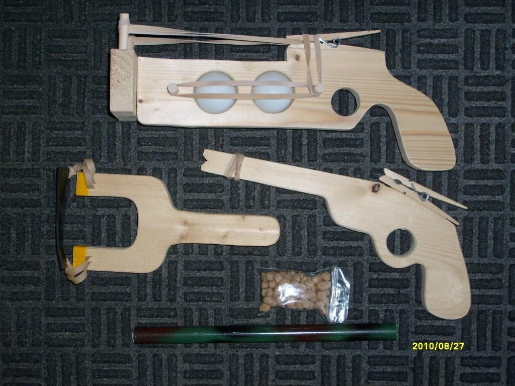 Slingshot, Pea Shooter Combo