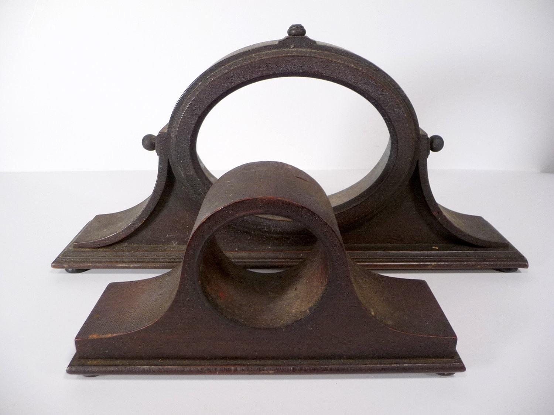 Pair of Antique Mantle Clock Cases