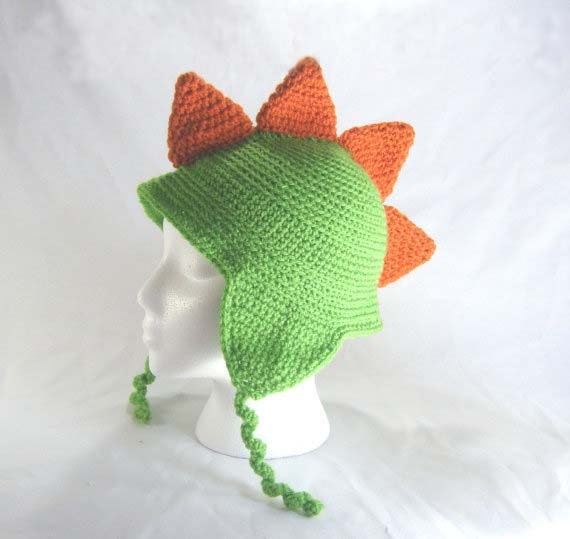 Simple newborn hat with ear flaps - Crochet Me