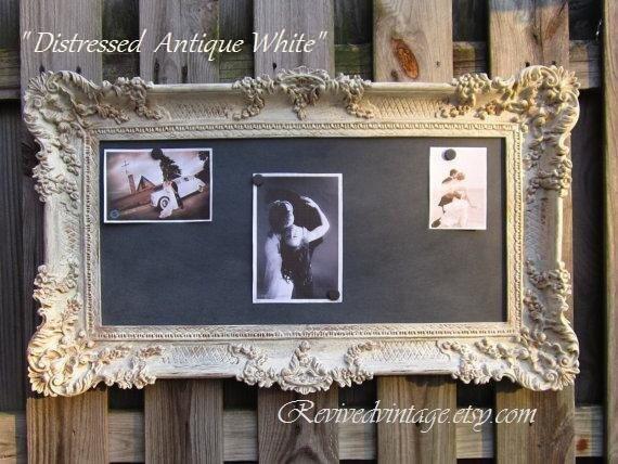 VINTAGE WEDDING DECOR Chalkboard Magnetic Gothic Wedding Old World 36x21