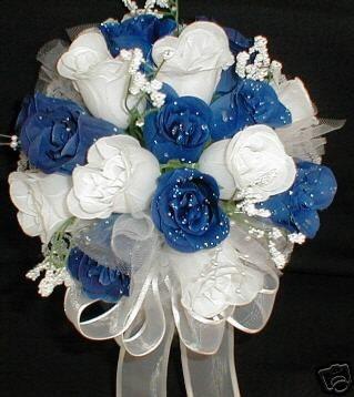 Bridal Style And Wedding Ideas Perfect Royal Blue Wedding Bouquet